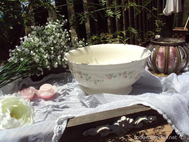 Antigüedades: Antigua ensaladera San Claudio - Foto 3 - 57105983