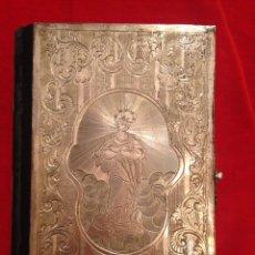Antigüedades: MISAL DE PLATA CON TEXTO ESPAÑOL. Lote 57109035