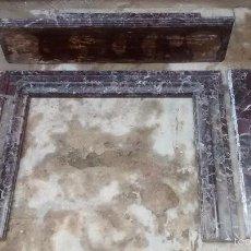Antiguidades: TARRAGONA CHIMENEA EN MÁRMOL SIGLO XIX NO ENVIO. Lote 57116365
