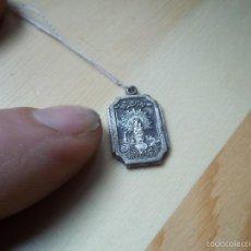 Antigüedades: COLGANTE DE LA VIRGEN DEL PILAR PARA MEDALLITA DE PLATA. Lote 57120256