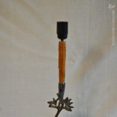 Antigüedades: LAMPARA GRULLA. Lote 57147636
