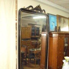 Antigüedades: GRAN ESPEJO ISABELINO, PERFECTO ESTADO.. Lote 57147766