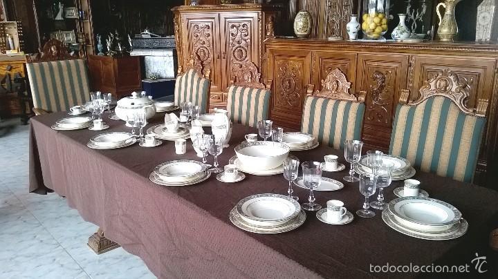 Antigüedades: VAJILLA INGLESA 12 SERVICIOS ROYAL DOULTON - Foto 10 - 57148342