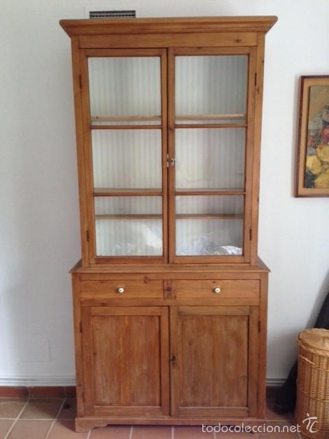 mueble alacena menorquín con vitrina librería¡u - Comprar Armarios ...