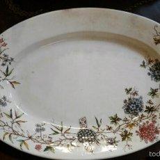 Antigüedades: BANDEJA ANTIGUA DE LA CARTUJA. Lote 57155116