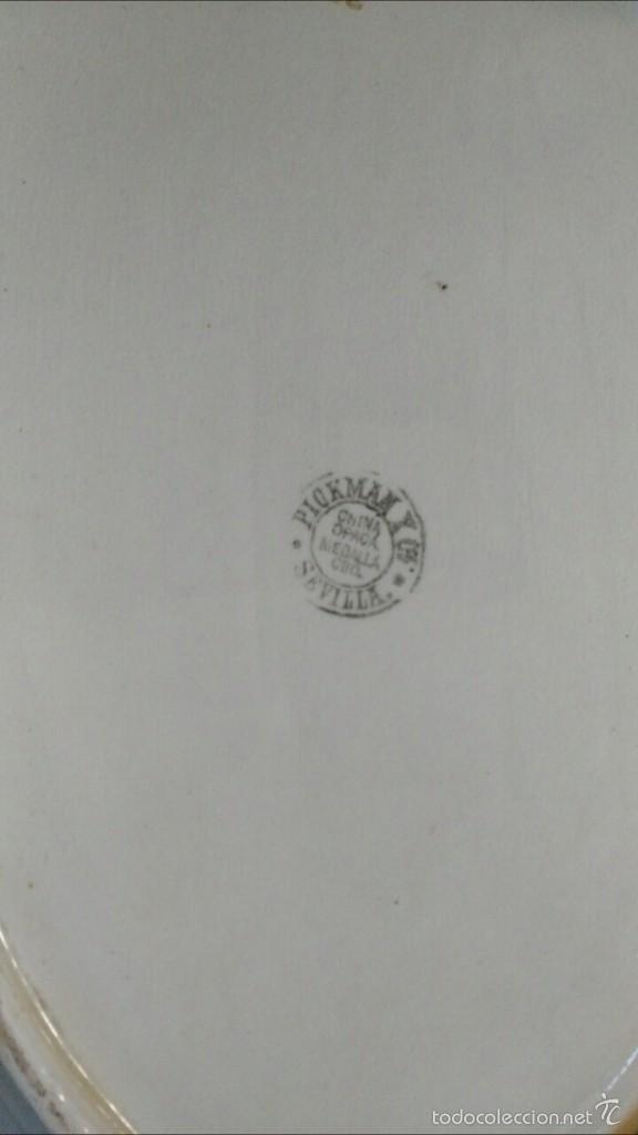 Antigüedades: BANDEJA ANTIGUA DE LA CARTUJA - Foto 3 - 57155116