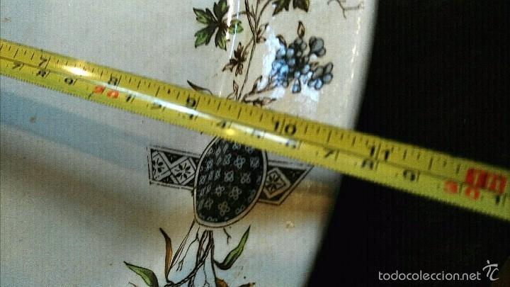 Antigüedades: BANDEJA ANTIGUA DE LA CARTUJA - Foto 5 - 57155116