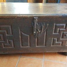 Antigüedades: ARCA CASTELLANA SI. XVII. Lote 57185890