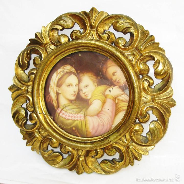 precioso marco madera dorada con lamina imagen - Comprar Ornamentos ...