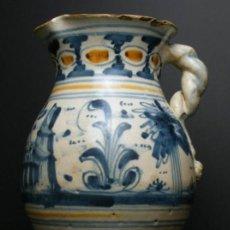 Antigüedades: JARRA DE TALAVERA, SERIE DE TRONCOS PARALELOS, SIGLO XVIII. Lote 52328142