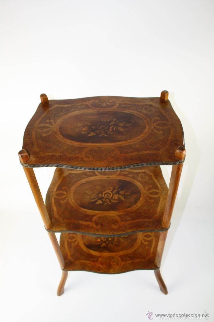 Mueble con estantes napoleon iii marqueter a comprar - Muebles siglo xxi ...