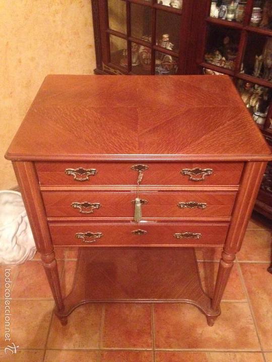 Mueble artesanal cubertero de la cuberteria de comprar muebles auxiliares antiguos en - Cuberteria de plata precios ...