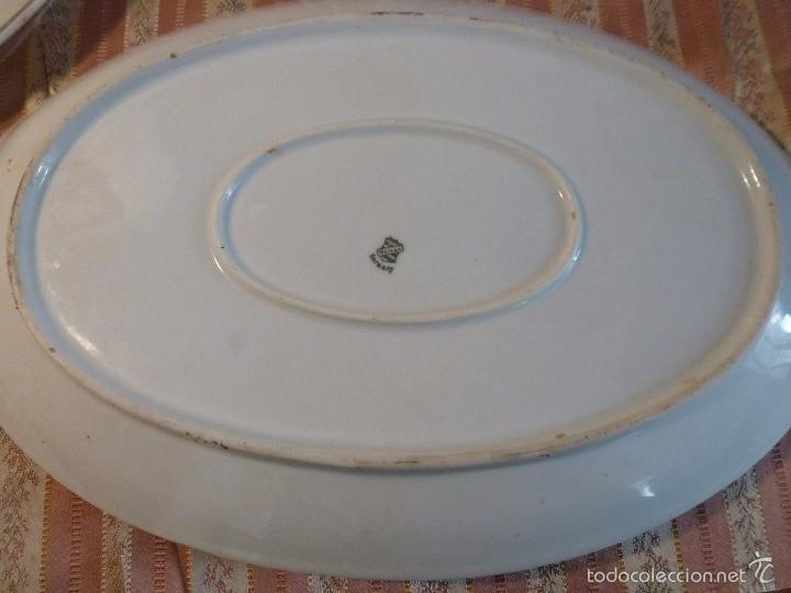 Antigüedades: DOS FUENTES DE PORCELANA ALEMANA - Foto 2 - 57225672
