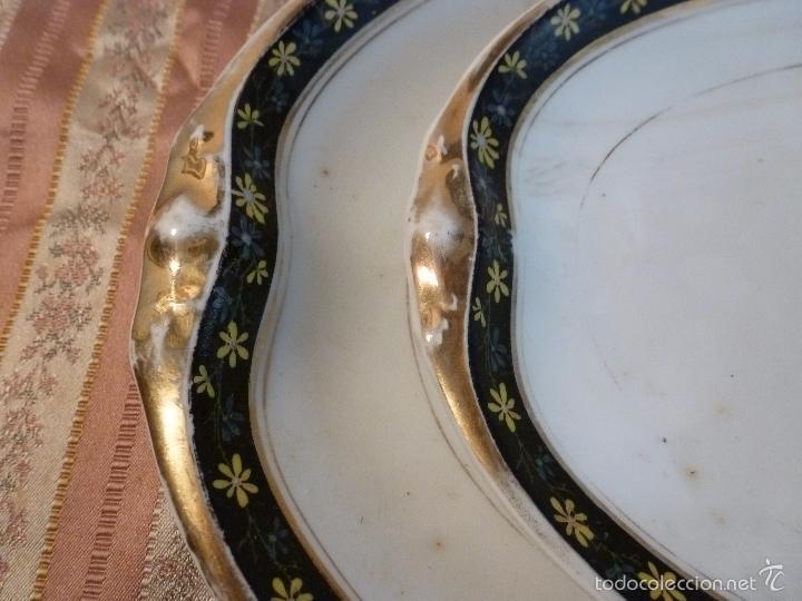 Antigüedades: DOS FUENTES DE PORCELANA ALEMANA - Foto 8 - 57225672
