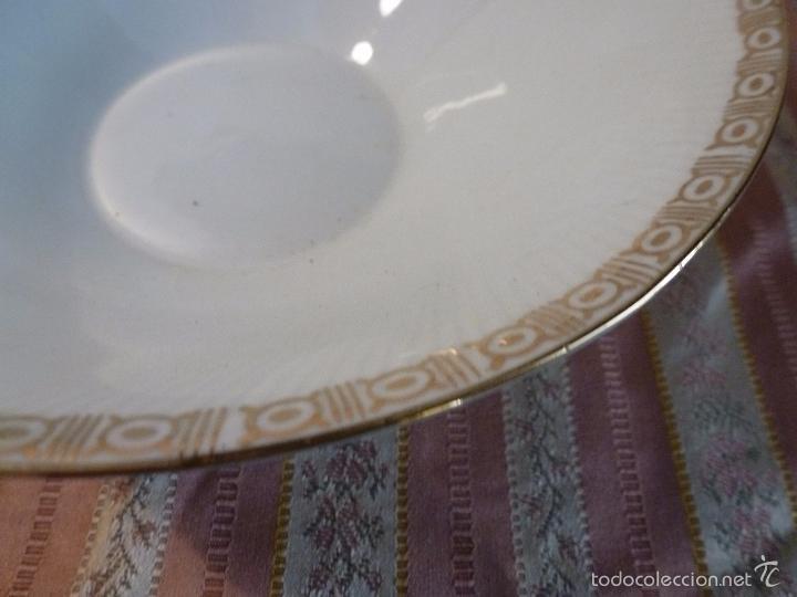 Antigüedades: CUENCO FRUTERO DE PORCELANA SANTA CLARA - Foto 4 - 57225744