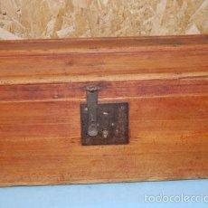 Antigüedades: BAÚL DE PINO. Lote 57237152