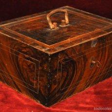 Antigüedades: ANTIGUA CAJA DE CAUDALES METALICA. REGISTRADORA. MONEDAS... AÑOS 30. Lote 57250205