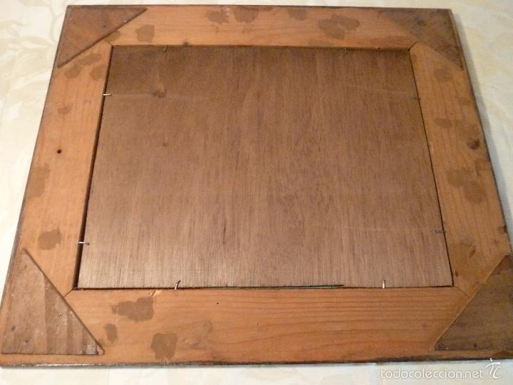 Antigüedades: espejo marco - Foto 2 - 57253888