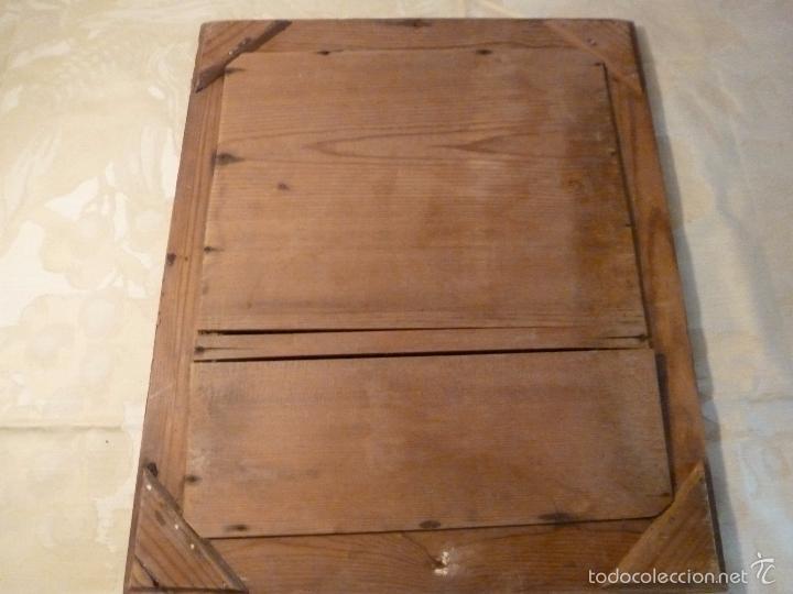 Antigüedades: espejo madera - Foto 2 - 57254651