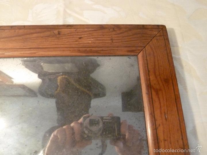 Antigüedades: espejo madera - Foto 4 - 57254651