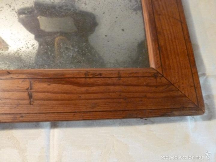 Antigüedades: espejo madera - Foto 5 - 57254651