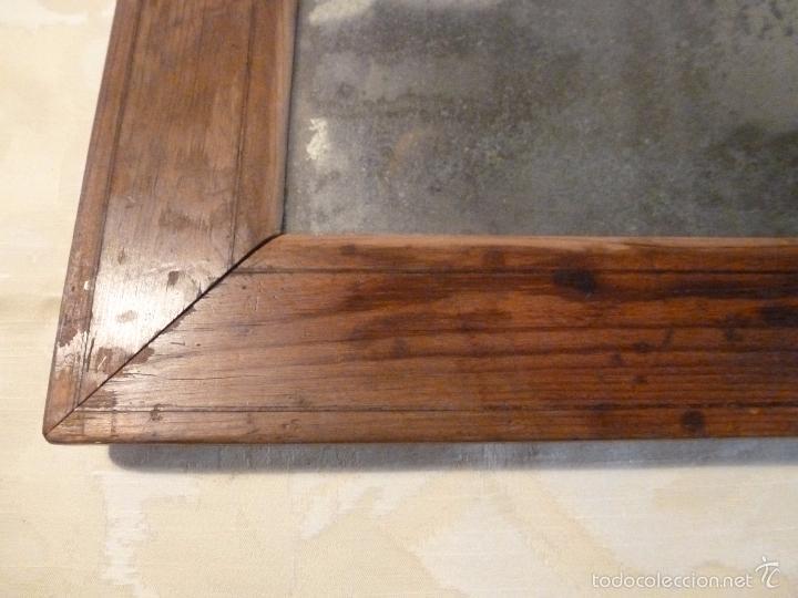 Antigüedades: espejo madera - Foto 7 - 57254651