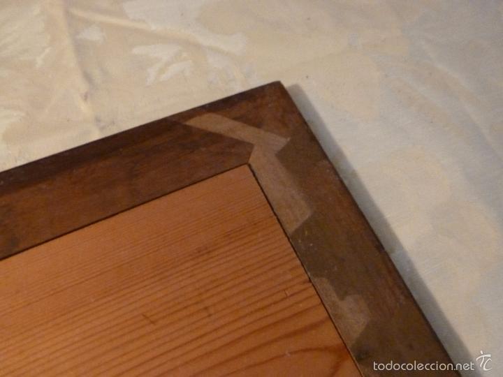 Antigüedades: espejo madera - Foto 9 - 57254651