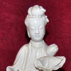 Antigüedades: FIGURA EN PORCELANA CHINA DE LOS AÑOS 30. FIRMADA. Lote 57255450
