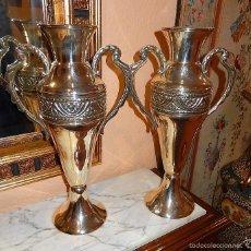 Antigüedades: PAREJA DE JARRONES MODERNISTAS. Lote 57256223