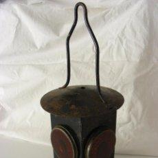 Antigüedades: FAROL FERROVIARIO, AÑOS 40. Lote 57263867