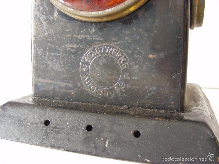 Antigüedades: Farol ferroviario, años 40 - Foto 4 - 57263867