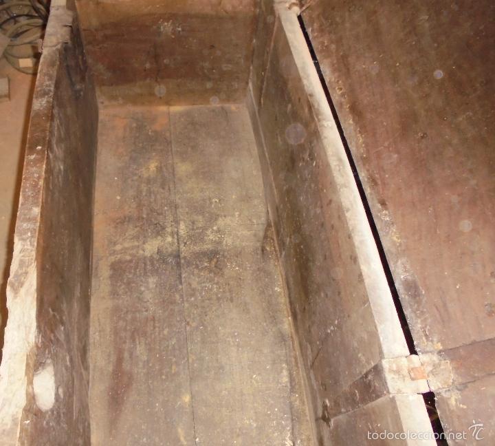 Antigüedades: Arca de nogal del S XVI - Foto 18 - 56302394