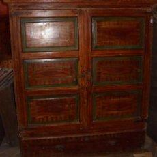 Antigüedades: ARMARIO PINTADO S.XVIII-XIX.. Lote 57284859