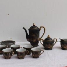 Antigüedades: JUEGO DE CAFE JAPONES 6 SERVICIOS. Lote 57286858