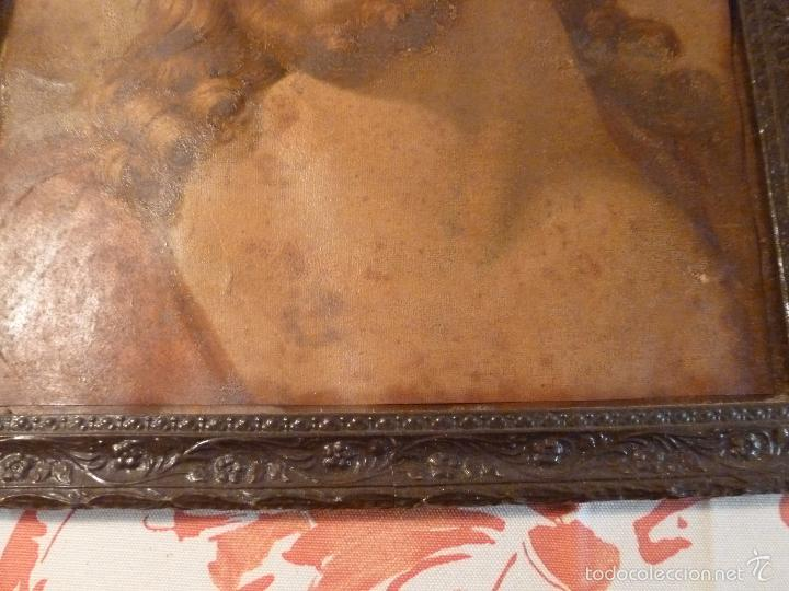 Antigüedades: LAMINA RELIGIOSA DE CRISTO - Foto 3 - 57301707