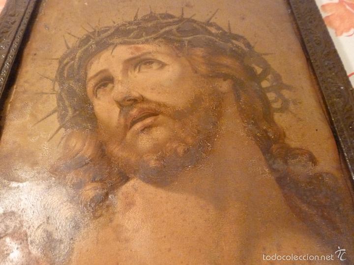 Antigüedades: LAMINA RELIGIOSA DE CRISTO - Foto 9 - 57301707