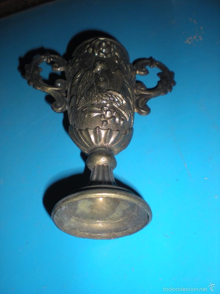 Antigüedades: PAREJA DE COPAS 13x15x5cm - Foto 4 - 57306824