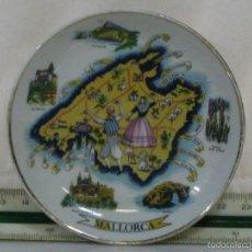 Antigüedades: PLATO MINI *** RECUERDO DE MALLORCA ***. Lote 57308976