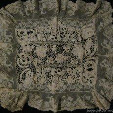 Antigüedades: ANTIGUO ENCAJE DE VENECIA S.XIX. Lote 57314174