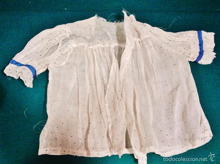 Antigüedades: Antiguo traje de niña de 2 piezas. - Foto 2 - 57315396