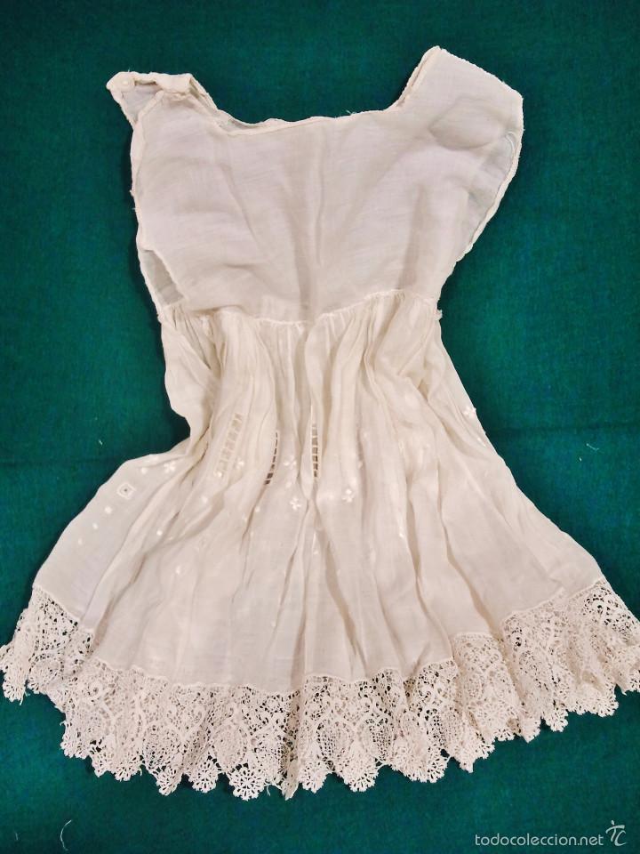 Antigüedades: Antiguo traje de niña de 2 piezas. - Foto 3 - 57315396