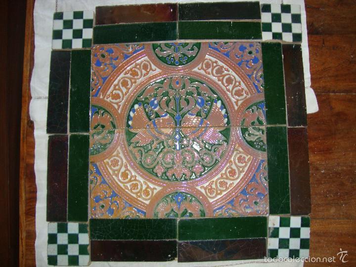 COMPOSICION DE AZULEJOS (TRIANA). RAMOS REJANO (Antigüedades - Porcelanas y Cerámicas - Triana)