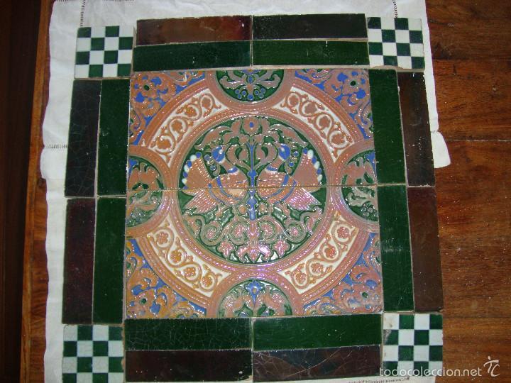 Antigüedades: Composicion de azulejos (Triana). Ramos Rejano - Foto 2 - 57324596