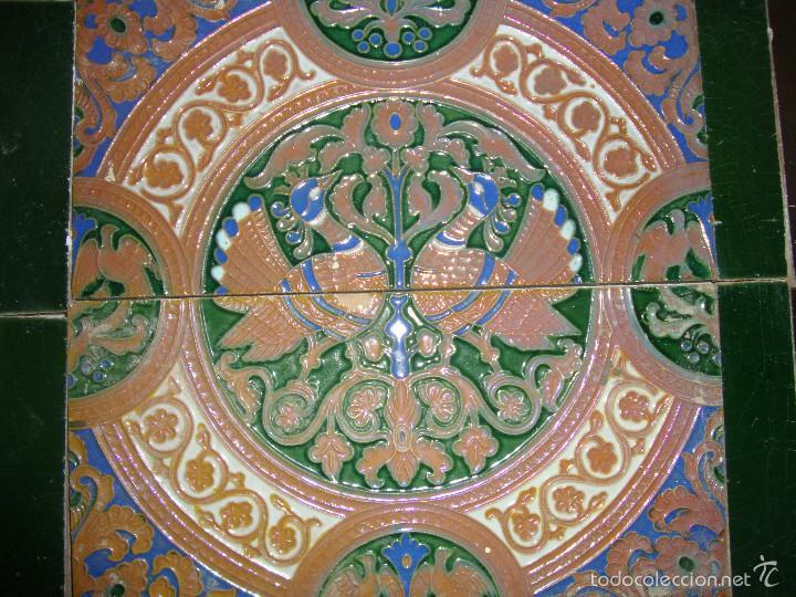 Antigüedades: Composicion de azulejos (Triana). Ramos Rejano - Foto 3 - 57324596