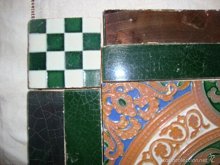Antigüedades: Composicion de azulejos (Triana). Ramos Rejano - Foto 4 - 57324596