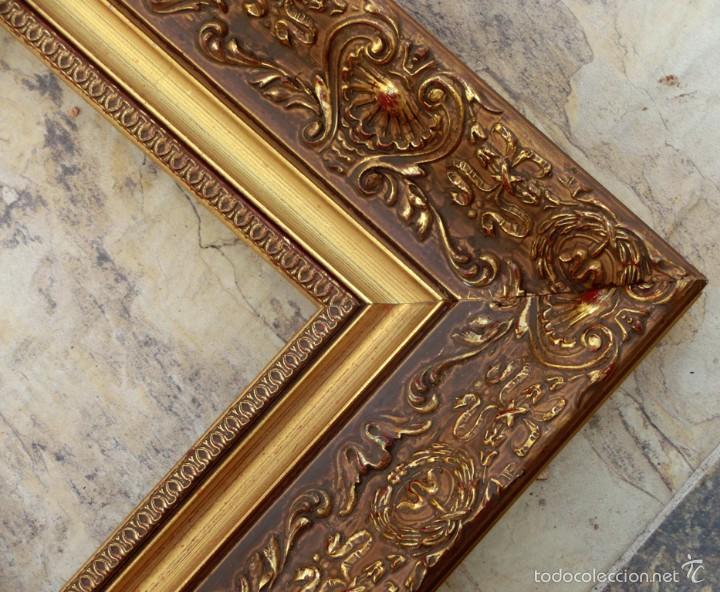 precioso marco dorado moldura decorada estilo comprar