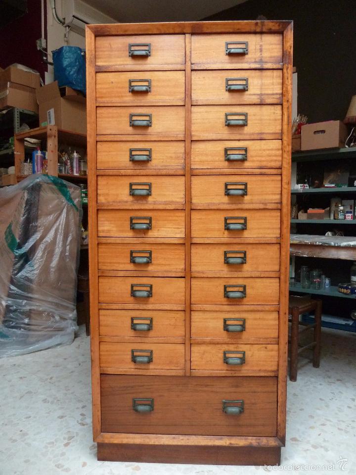 Mueble tipo chifonier o archivador con 21 cajon comprar for Cajones para muebles