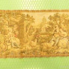 Antiques - ANTIGUO TAPIZ. 49,5X91 cms. - 57339966