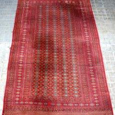 Antigüedades: ALFOMBRA PAKISTAN-BUKHARA. LANA ANUDADA A MANO. PAKISTAN. CIRCA 1950.. Lote 57344006