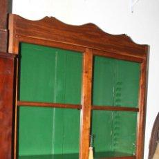 Antigüedades: LIBRERIA. MADERA DE CAOBA. ESTILO ISABELINO. ESPAÑA. SIGLO XIX.. Lote 57345966